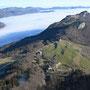 Blick von der Rötifluh über den Jura Richtung Osten
