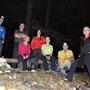 Gruppenbild vor dem Abstieg