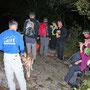 Am östlichen Rande unseres Wanderrayons auf der Höchi Fluh am Donnerstag Abend 10. Oktober 2013