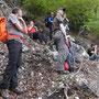 Blick vom Clubwägli aufs Alpenpanorama am Donnerstag, 8. Mai 2014
