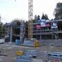 Die Talstation in Oberdorf nimmt Form an. Fotografiert am Donnerstag, 25. September 2014