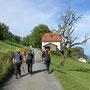 Start in Wolfisberg bei blauem Himmel