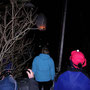 Auf der Donnerstagswanderung vom 28. Februar 2013 starten wir beim Hüttli einen Heissluftballon