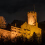 Schloss Neu-Bechburg Oensingen in Festbeleuchtung