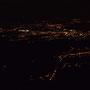 Vor dem Heimmarsch noch ein letzter Blick hinuter aufs Lichtermeer von Solothurn