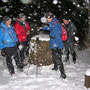Plötzlicher Wintereinbruch am Donnerstag 21. November 2013 beim Höchchrüz