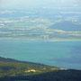 Blick auf Neuenburgersee und Broyekanal