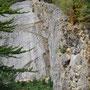 der Steinbruch hat ziemlich grosse Ausmasse