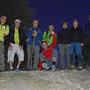 Gruppenfoto mit Akrobatikeinlage