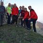 Gipfelfoto auf den Chamben