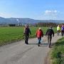 Start bei der Hornusserhütte Zuchwil mit Blick auf Bamfluhchöpfli