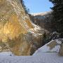 Das sieht doch schon ganz gut aus am Start beim Steinbruch in Oberdorf!