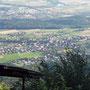 Beim Chänzeli auf dem Weissenstein am Donnerstag, 17. Juli 2014 mit Blick auf Oberdorf