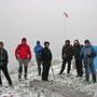Am Donnerstag 23.Mai 2013 geraten wir doch tatsächlich noch einmal in einen Schneesturm auf der Rötifluh