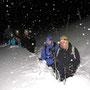 Einstimmig zur schönsten bisherigen Wanderung gekürt! Bei minus 16 Grad am 2.Februar 2012 unterhalb der Hinteregg