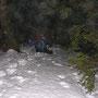 Mit kurzen Beinen in derart steilem Gelände gibt es zur Zeit fast kein Durchkommen mehr