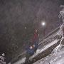 Extremste Kampfwanderung der Kampfwandergeschichte im hohen Schnee am 28. März.2013 auf dem ausgesetzten Hüttenweg unterhalb der Bäucherhütte. Nach diesem letzten Foto hat sogar der Fotoapparat für immer den Geist aufgegeben.