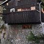 Die Ruetschhütte, ein Adlerhorst in der Felswand