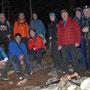 Gruppenfoto auf dem Schattenberg