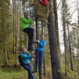 Unsere Kampfwanderfrauen beenden nun definitiv die lange Schlechtwetterphase