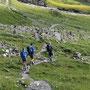 Durchmarsch durch das Steinmannli-Dorf