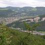 Blick in die Klus und nach Balsthal