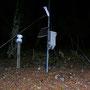 Es gibt wohl nur sehr wenige Wanderer, die diese Niederschlags-Messstation schon mal gesehen haben