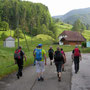 Start in Gänsbrunnen
