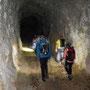 Beim Tunnel lichtet sich der Nebel langsam