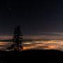 Ein Föteli aus der teuren Kamera von Toni zeigt den fantastischen Ausblick vom Bettlachstock Richtung Alpen