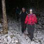 und ein wenig Schnee haben wir auch noch gesehen