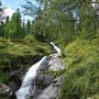 Immer wieder Wasserfälle