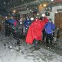 Ankunft bei der Buechmatt an der Donnerstagswanderung vom 23. Januar 2014