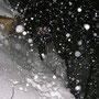 Wunderschöner Aufstieg durch die Schlucht zum Niederwiler Stierenberg am Donnerstag 16. Dezember 2010