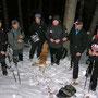 Aufstieg mit slowakischen Kollegen durch den Rüschgraben auf den Hinterweissenstein am Donnerstag 20. Januar 2011