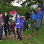 Kampfwandern pur mit dem vollen Gewitterprogamm und Dauer-Platzregen am 7. Juni 2012 auf dem Weissenstein