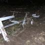 Schäden am Holzzaun