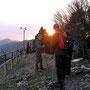 Sonnenuntergang auf dem Balmfluhchöpfli am Donnerstag 14. April 2011