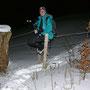Zur Abwechslung eine tritt- und sitzfeste Leiter