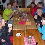 Gruppenbild im Berghaus Roggen