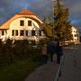 Schöne Lichtverhältnisse beim Start in Wynau