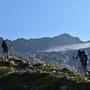 Aufstieg zum Pass Laghetto