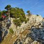 Aufstieg über den Westgrat vom Rüttelhorn