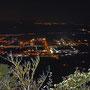 fantastischer Blick aufs Lichtermeer des Niederbipper Industriequartiers