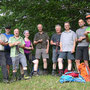 Gruppenbild bei der Gipfelrast