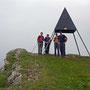 Auf dem höchsten Punkt des Schweizer Juras auf dem Mont Tendre 1679m ist die Aussicht leider nicht gut