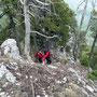 Auf dem Ostgrat an der Donnerstagswanderung vom 28.April 2011