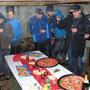 Lachs- und Kaviarbuffet im Buechmatt-Stall mit selbst gefangenem Alaska-Lachs