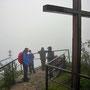 Regenwanderung am Donnerstag, 10. Juli 2014 auf die Roggenfluh