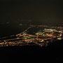 Auch nach Jahren immer wieder schön der Ausblick von der Roggenfluh Richtung Niederbipp am Donnerstagabend 14. November 2013